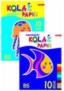 KOLAZ PAPIR B5 SAMOLEPLJIVI PLITVICE