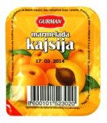 MARMELADA KAJSIJA 30G GURMAN