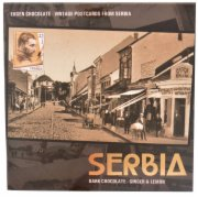 COK.VINTAGE POSTCARD FROM SERBIA 90G