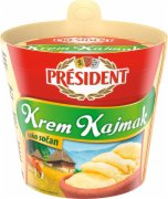 KAJMAK MLADI  PRESIDENT 250G SOMBOLED DO