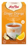 CAJ GINGER ORANGE WITH VANILLA BIO 30,6G