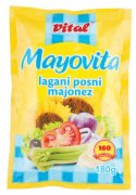 MAJONEZ LIGHT MAYOVITA 180G KESA