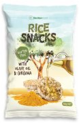 GALETE RICE SNACKS KURKUMA 50G