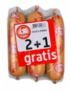 KOBASICA PILECA PRIMA 375G 2+1 GRATIS