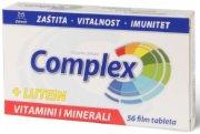 TABLETE COMPLEX VITAMINI I MINERALI  56K