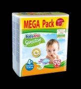 PELENE BABY 4+ 76/1 9-20KG MEGA PACK BAB