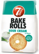 HLEB BAKEROLLS SOUR & ONION 160G