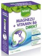 MAGNEZIJUM DIREKT+VIT B6 NATUREL 30G