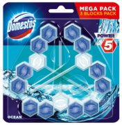 WC OSVEZ POWER 5 OCEAN 3X55G DOMESTOS