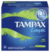 HIG. TAMPONI  COMPAK SUPER 16/1 TAMPAX
