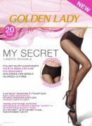 CARAPE BESAVNE 20D CRNE XL5 GOLDEN LADY