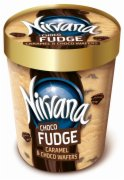 SLADOLED NIRVANA CORE FUDGE 175ML NESTLE