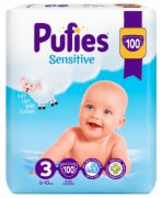 PELENE BABY 3 JUNIOR 100/1 4-9KG SENSITI
