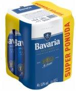 PIVO BAVARIA 4X0.5L LIMENKA