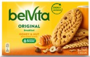 KEKS INTEG. BELVITA HONEY & NUT  225G