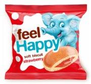 BISKVIT FEEL HAPPY JAGODA  42G