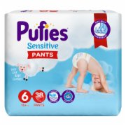 PELENE SENSITIVE PANTS 6  38/1 PUFIES