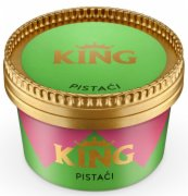 SLADOLED KING PISTACI  87G FRIKOM