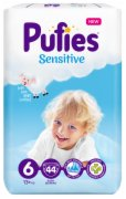 PELENE BABY SENSITIVE XL 6  44/1 PUFIES
