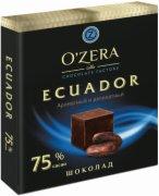 COK.CRNA O ZERA  ECUADOR 75% KAKAO 90G