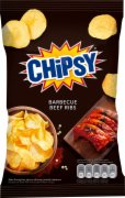 CIPS BARBECUE BEEF RIBS 40G  MARBO