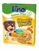 MUSLI  LINO HONEY RINGS 225G PODRAVKA