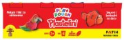 PLASTELIN PLAY DOUGH NEON/REGULAR 4X130G