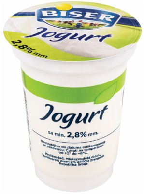 JOGURT  2,8%MM 180G CASA BISER