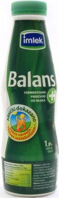 JOGURT BALANS+FERMENTISANI PROIZVOD 1% 5