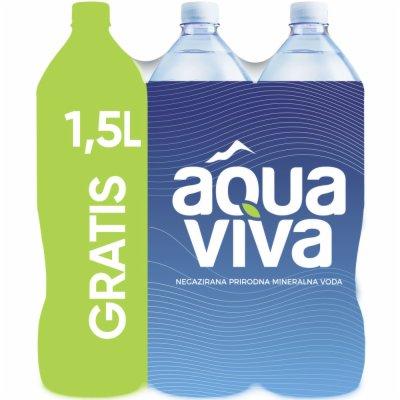 VODA AQUA VIVA 1,5L 5+1 GRATIS