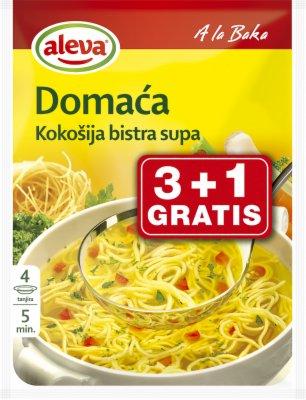SUPA BISTRA DOMACA KOKOSJA 3+1 GRATIS AL