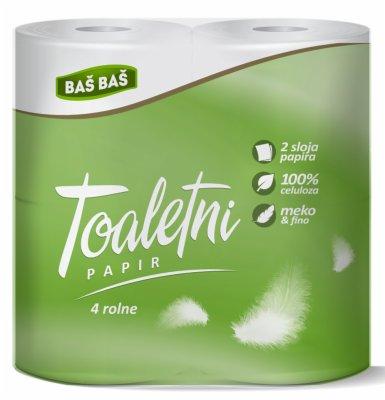 TOALETNI PAPIR 2SL 4/1 BAS BAS