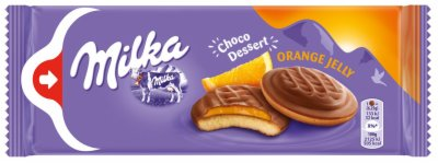 BISKVIT MILKA DESERT ORANGE 147G