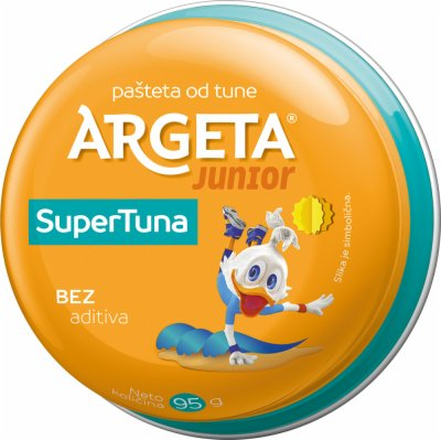 PASTETA JUNIOR SUPER TUNA 95G ARGETA