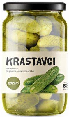 KRASTAVAC 6-9 680G ZDRAVO ORGANIK STAKLO