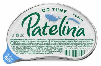 PASTETA OD TUNE 60G PATELINA