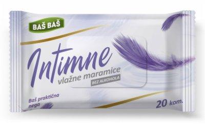 VLAZNE MARAMICE INTIMNE BAS BAS 20/1