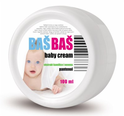BABY CREAM 100ML BASBAS