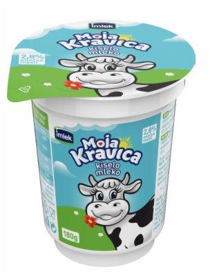 KISELO MLEKO MOJA KRAVICA 2,8% 180G CASA