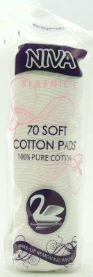 BLAZNICE SOFT COTTON PADS 70/1  NIVA