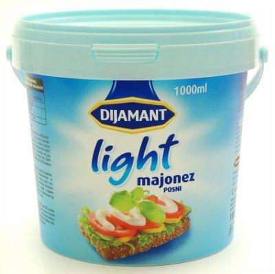 MAJONEZ LIGHT DIJAMANT 1L KANTA
