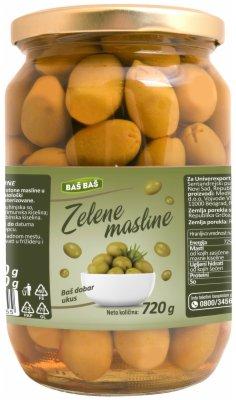 MASLINE ZELENE SK 720G BAS BAS