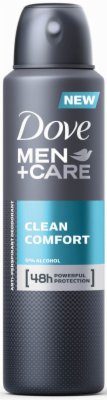DEO SPREJ CLEAN COMFORT 150ML DOVE