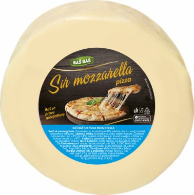 SIR PIZZA MOZZARELA RF BAS BAS