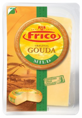 SIR GOUDA LISTICI 48%MM 150G FRICO