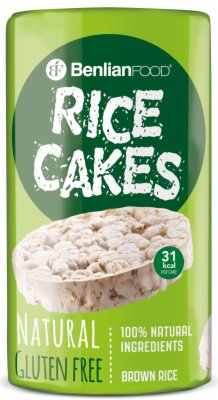 GALETE RICE CAKES NATURAL 100G