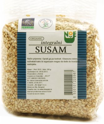 SUSAM INTEGRALNI BIO 200G