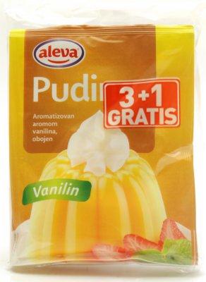 PUDING VANILA 40G 3+1 GRATIS ALEVA