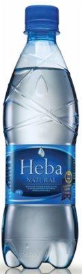 VODA HEBA NATURAL NEGAZIRANA 0,5L PVC