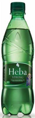 VODA HEBA STRONG 0,5L GAZIRANA